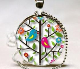 Bird Necklace Lovebi..