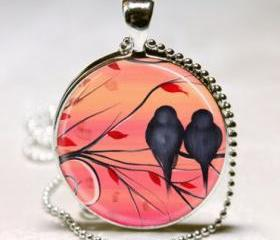 Bird Necklace, Love ..