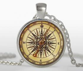 Old compass Pendant,..