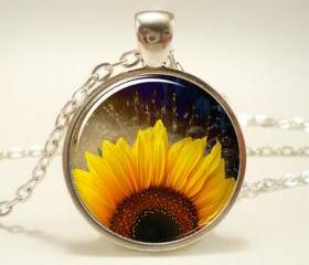 Sunflower Necklace, ..