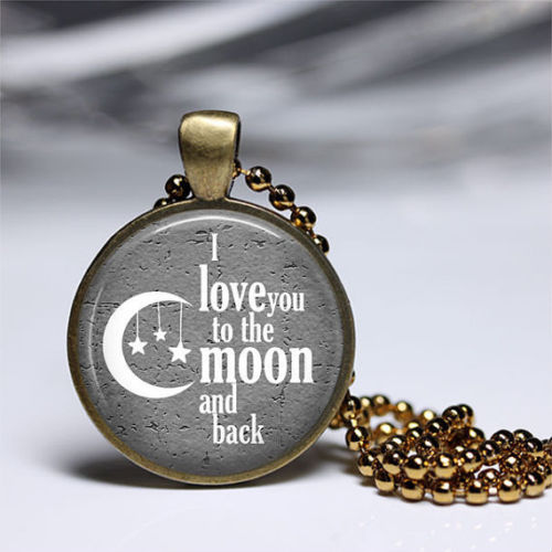 I love you to the moon and back pendant girls men and boys summer on i love you to the moon and back pendant girls men and boys summer mozeypictures Choice Image