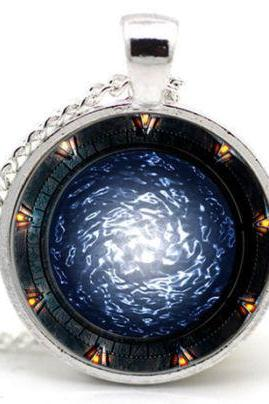 Stargate Portal SG1 Necklace