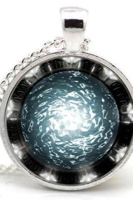 Stargate Portal Universe Necklace Jewelry Pendant Necklace
