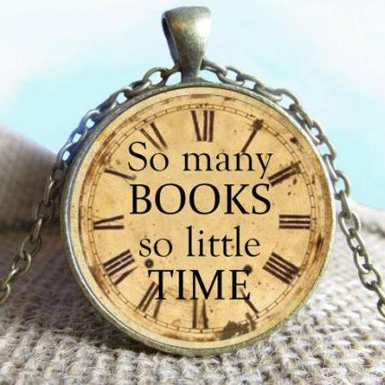Quote Pendant, So Many Books So Little Time, Photography Necklace, Quote